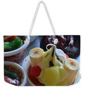 Chinese Food Miniatures 2 Weekender Tote Bag