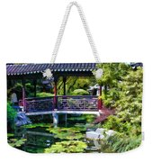 Chinese Gardens In Portland Oregon Weekender Tote Bag