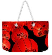 Chinese Lanterns 3 Weekender Tote Bag