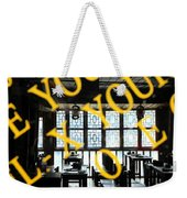 Chinese Restaurant Weekender Tote Bag