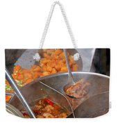 Chinese Street Food Weekender Tote Bag