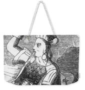 Ching Shih, Cantonese Pirate Weekender Tote Bag by Photo Researchers