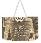 Chinon Wine  Weekender Tote Bag