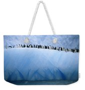 Chinstrap Penguins Lined Weekender Tote Bag
