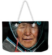 Chipaya Culture Grandmother. Department Of Oruro. Republic Of Bolivia. Weekender Tote Bag