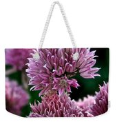 Chive Blossom Weekender Tote Bag