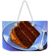 Chocolate Cake Weekender Tote Bag