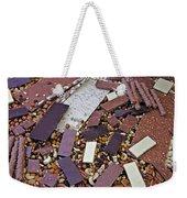 Chocolate Weekender Tote Bag by Joana Kruse