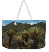 Cholla On The Mountainside Weekender Tote Bag