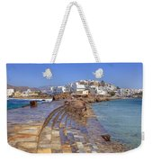 Chora Naxos Weekender Tote Bag