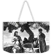 Christ & Woman Of Samaria Weekender Tote Bag