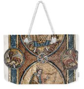 Christ And David Weekender Tote Bag