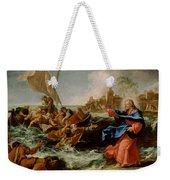 Christ At The Sea Of Galilee Weekender Tote Bag