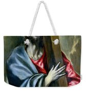 Christ Clasping The Cross Weekender Tote Bag