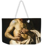 Christ Displaying His Wounds Weekender Tote Bag