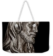 Christ In Bronze - Bw Weekender Tote Bag