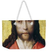 Christ In Crown Of Thorns Weekender Tote Bag