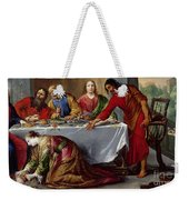 Christ In The House Of Simon The Pharisee Weekender Tote Bag