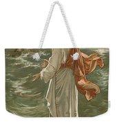 Christ Walking On The Waters Weekender Tote Bag