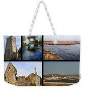 Christchurch Collage Weekender Tote Bag