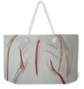 Christina - Life Drawing Weekender Tote Bag