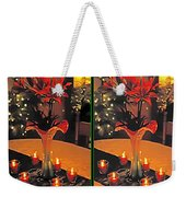 Christmas Arrangement - Gently Cross Your Eyes And Focus On The Middle Image Weekender Tote Bag