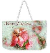 Christmas Card - Virginia Creeper In Autumn Colors Weekender Tote Bag