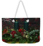 Christmas Delights Weekender Tote Bag