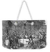 Christmas Feast, 1838 Weekender Tote Bag