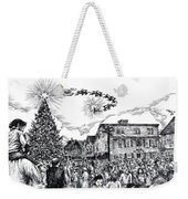 Christmas In Dock Square Rockport Weekender Tote Bag