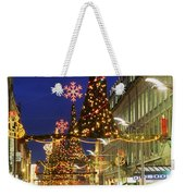 Christmas In Dublin, Henry Street At Weekender Tote Bag