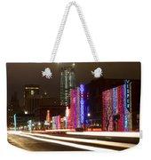 Christmas In Okc Weekender Tote Bag