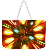 Christmas Light Abstract Weekender Tote Bag