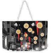 Christmas Lights In Alicante Weekender Tote Bag