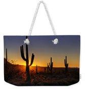 Christmas Morning In Arizona  Weekender Tote Bag