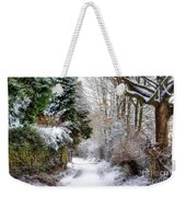 Christmas On The Chase Weekender Tote Bag