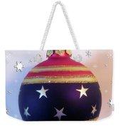 Christmas Ornament Weekender Tote Bag