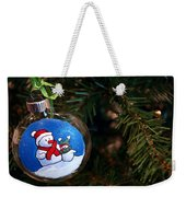 Christmas Ornament Weekender Tote Bag