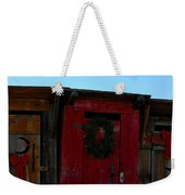 Christmas Out Houses For Sale Weekender Tote Bag