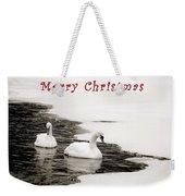 Christmas Swans 2367 Weekender Tote Bag