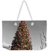 Christmas Tree At Pier 39 Weekender Tote Bag