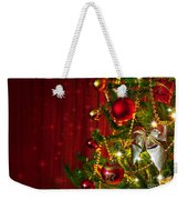 Christmas Tree Detail Weekender Tote Bag