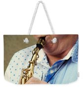 Christopher Mason Alto Sax Player Weekender Tote Bag