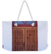 Christ's Red Door Weekender Tote Bag