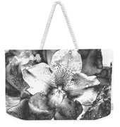 Chrome Flower Weekender Tote Bag