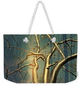 Chrome Forest Weekender Tote Bag