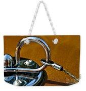 Chrome Lock Weekender Tote Bag