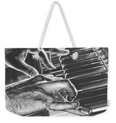 Chrome Piano Man Weekender Tote Bag