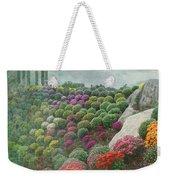 Chrysanthemum Garden - Ott's Greenhouse Schwenksville Pa Weekender Tote Bag