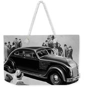 Chrysler Airflow Weekender Tote Bag
